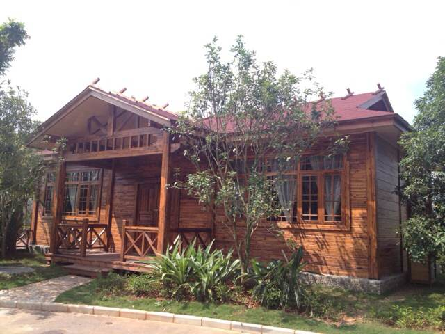 欧式防腐木木屋