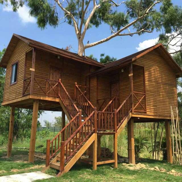 傣式防腐木木屋