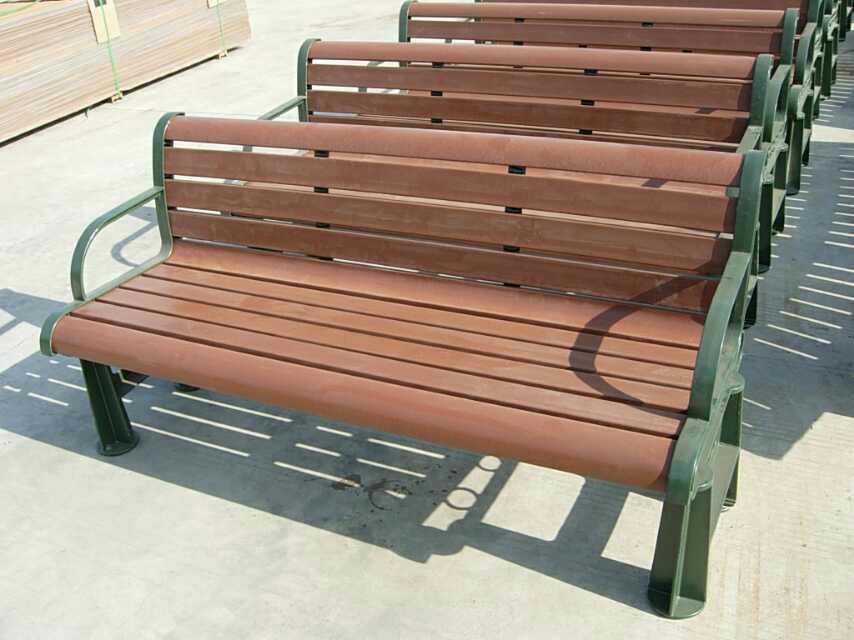 排式防腐木椅子