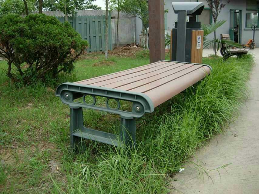 小区防腐木椅子