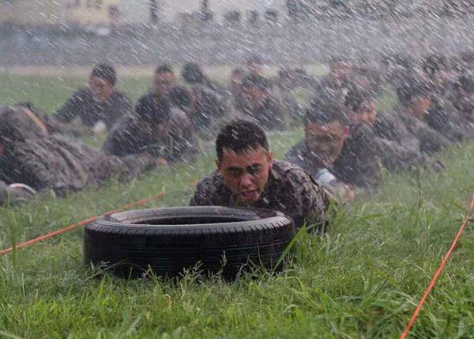 高抗压军事训练