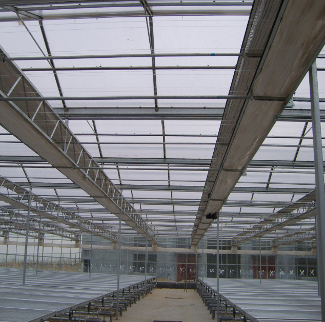 双层薄膜连栋温室大棚几种建造方法