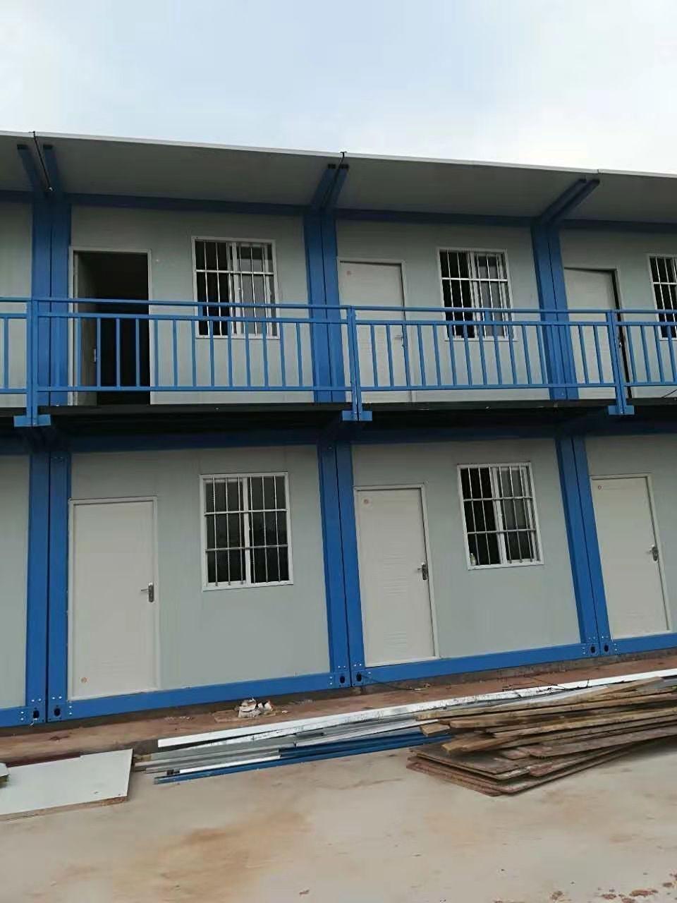 活动房实现了临时建筑的通用标准化