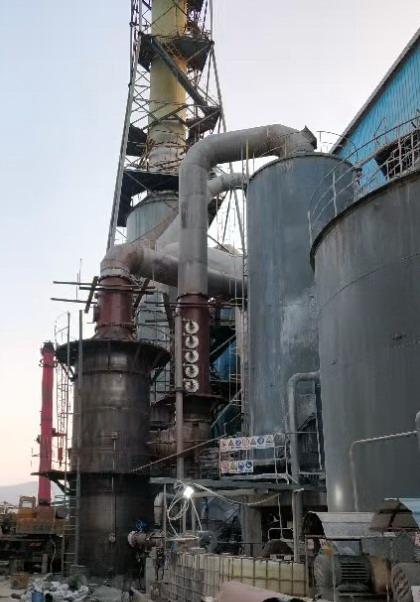 磷銨尾洗改造工程