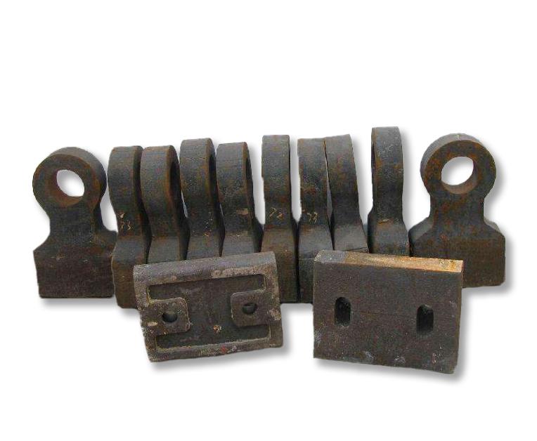 怎样选择锤式破碎机锤头的材质?昆明锤式破碎机锤头的选材要注意哪些问题?