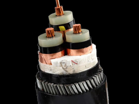 铜芯高压电缆