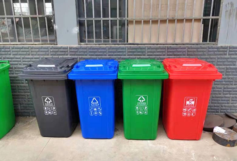 户外塑料垃圾桶批发