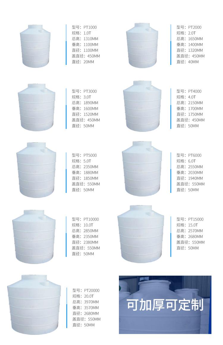 塑料立式水塔批发