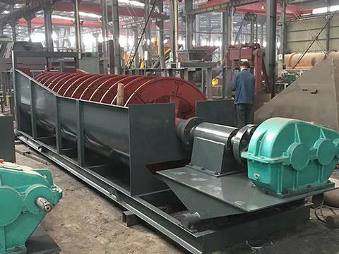 螺旋洗砂機械