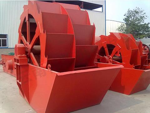 轮斗洗砂机设备