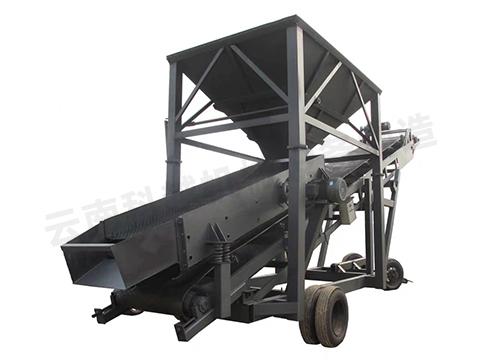 大型滚筒式筛沙机