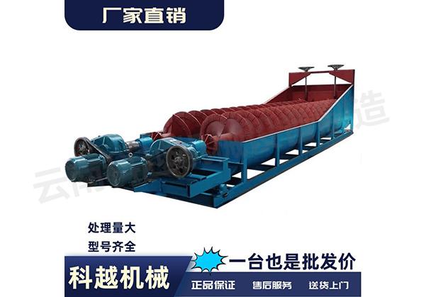 中型型螺旋洗砂機