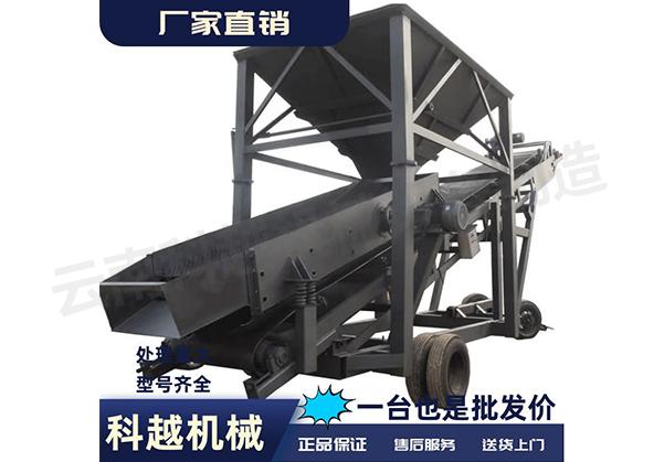 重工業移動篩沙機
