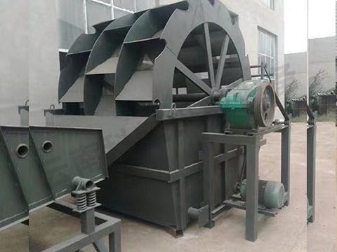 昆明轮式洗砂机厂家讲讲轮斗式洗砂机的性能优势有哪些?