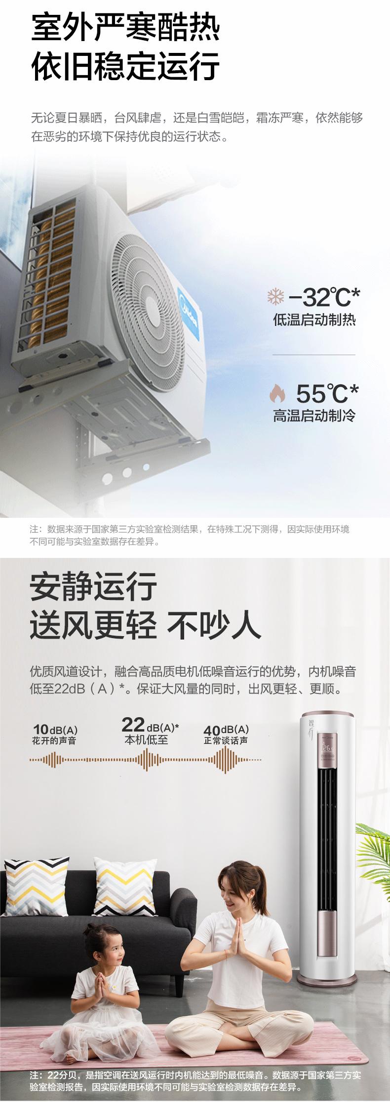 云南美的立柜式空调好用吗