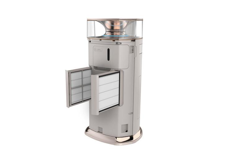 云南美的立柜式空调安装