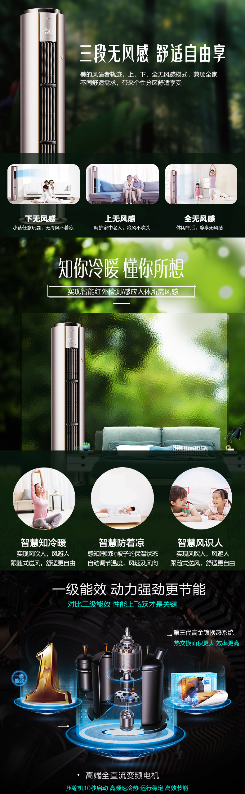 云南美的柜机空调多少钱一台