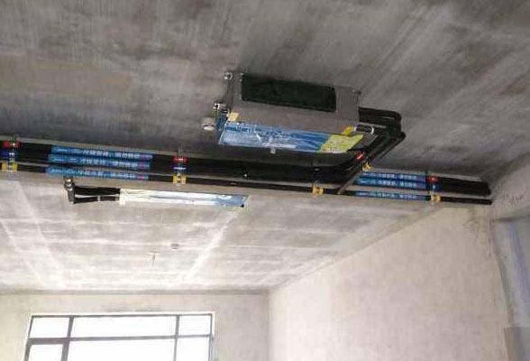 昆明美的中央空调安装流程