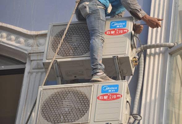 云南美的空调安装流程