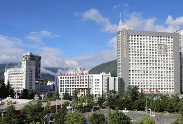 商用中央空调安装案例-大理市第一人民医院