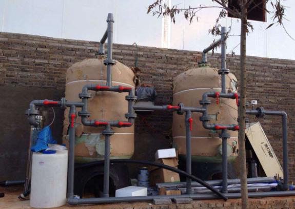 农庄750T鱼池循环净水设备
