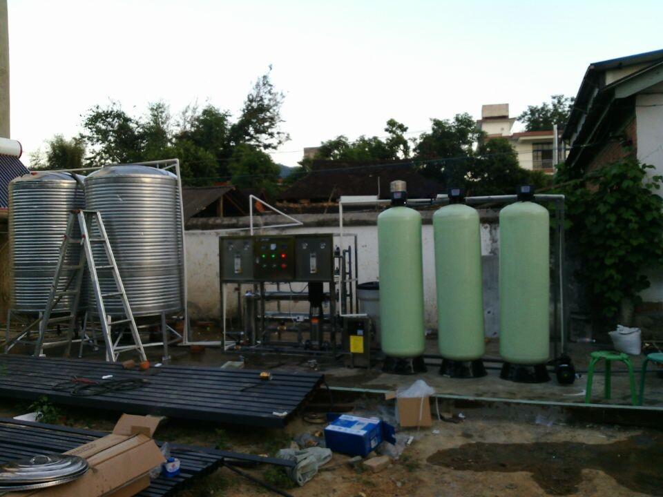 景洪茶花鸡场1T每小时纯水设备