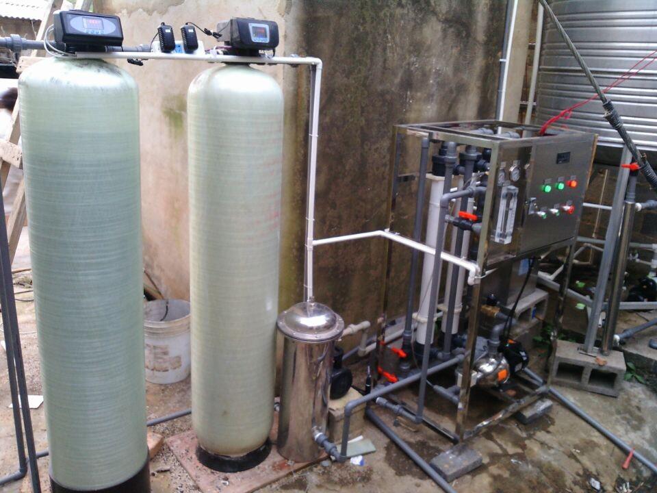湯池1T每小時超濾設備