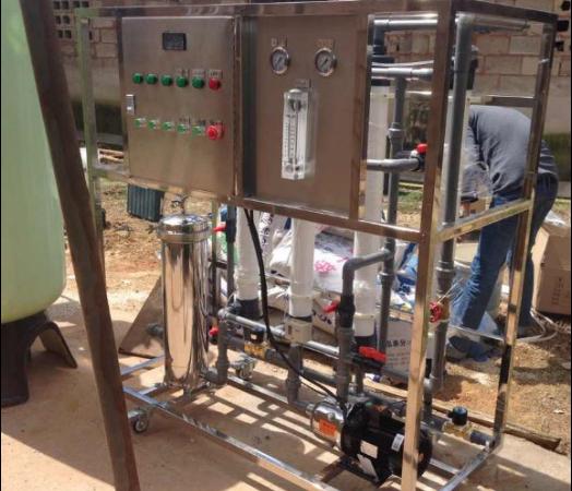 晋宁养殖场4T每小时超滤设备