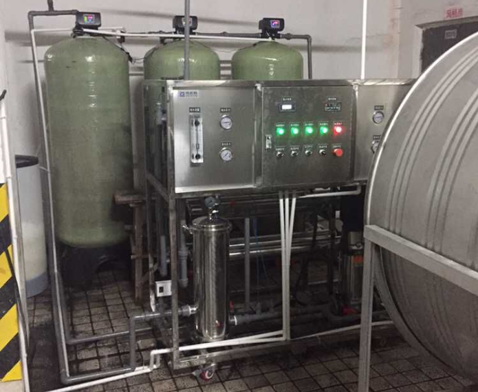 昆明地稅局2T每小時純凈水設備