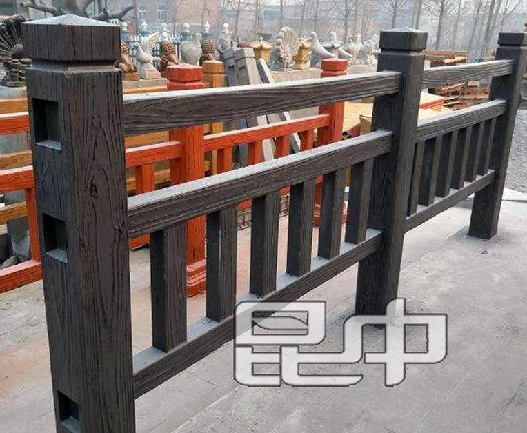 昆明景观仿木栏杆销售