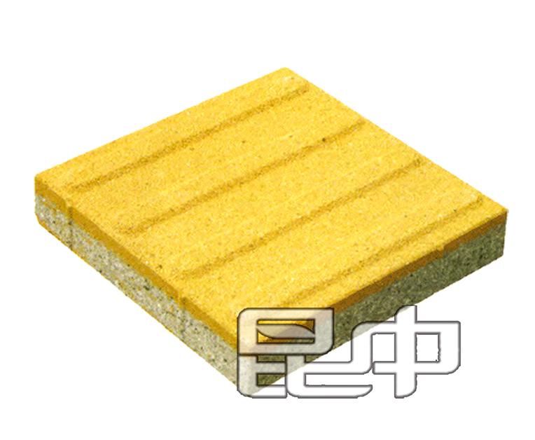 仿石透水砖地面