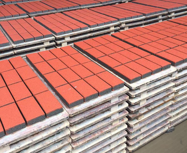 昆明彩色w88混凝土砖厂家