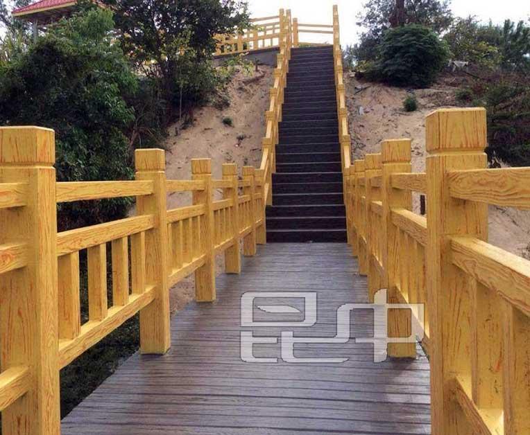 公园道路防木栏