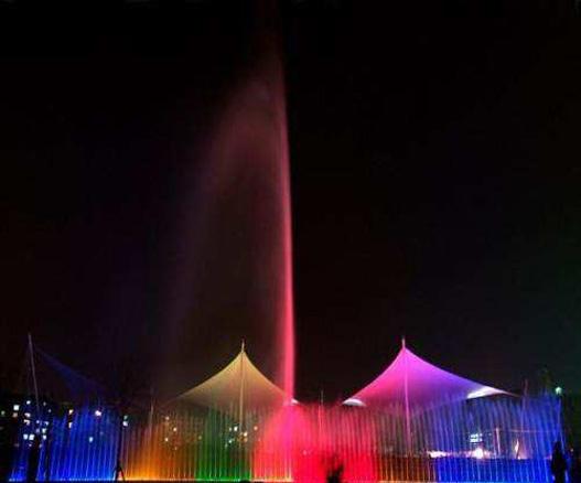 喷泉灯光亮化设计