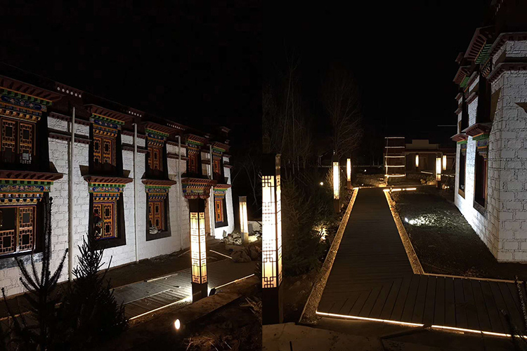西藏馆灯光亮化工程