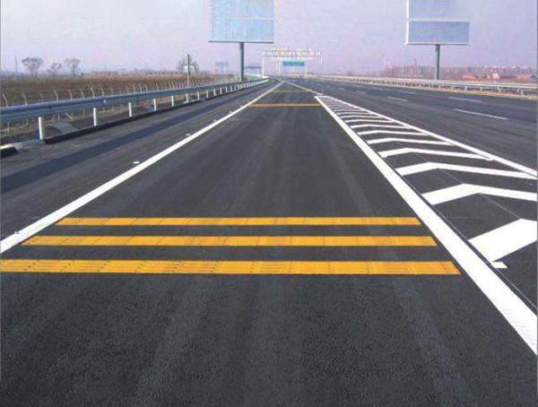 高速公路热熔道路划线