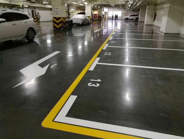 我们在进行地下停车场车位划线中要注意什么