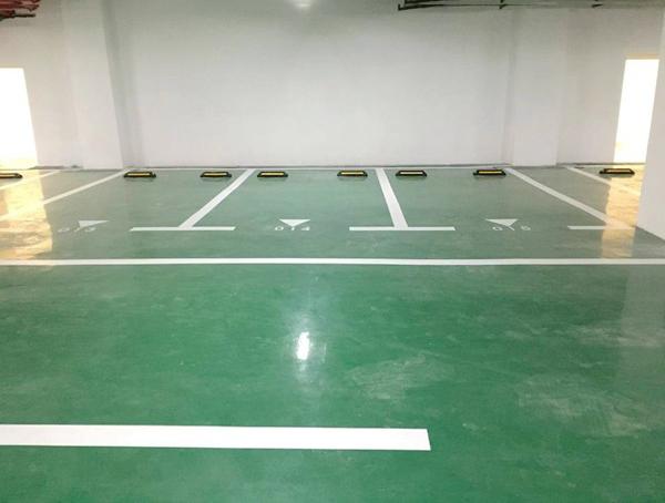 小区停车场车位划线施工规范部门要求如下