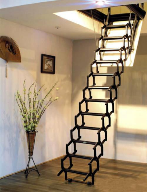 如何安装伸缩楼梯,伸缩楼梯的安装方法介绍
