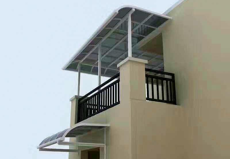 別墅屋頂遮陽雨棚