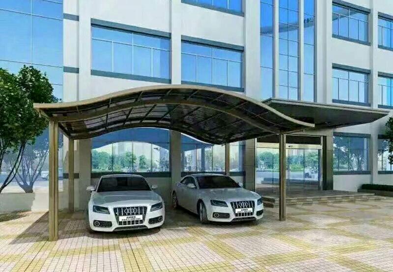 鋁合金戶外車棚