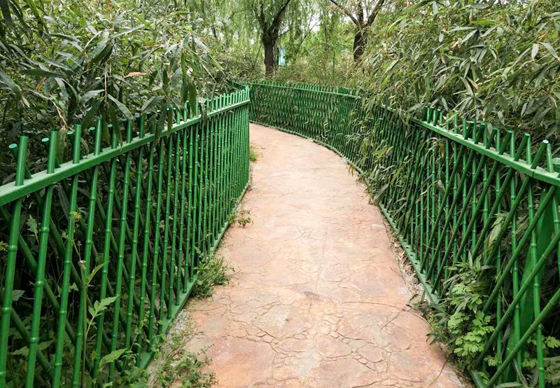 仿竹子柵欄
