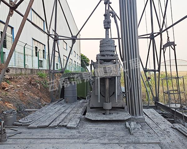 玉溪炼钢厂深井施工