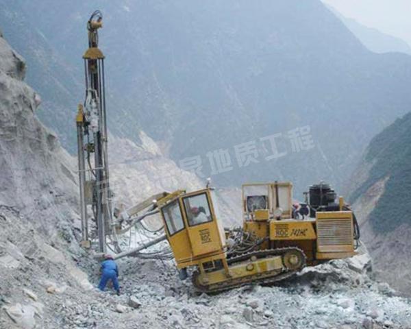 矿山勘探工程施工