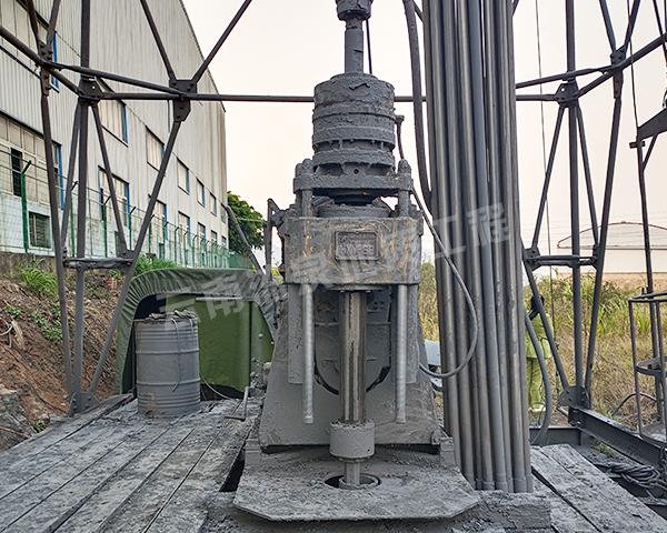 玉溪炼钢厂深井工程施工