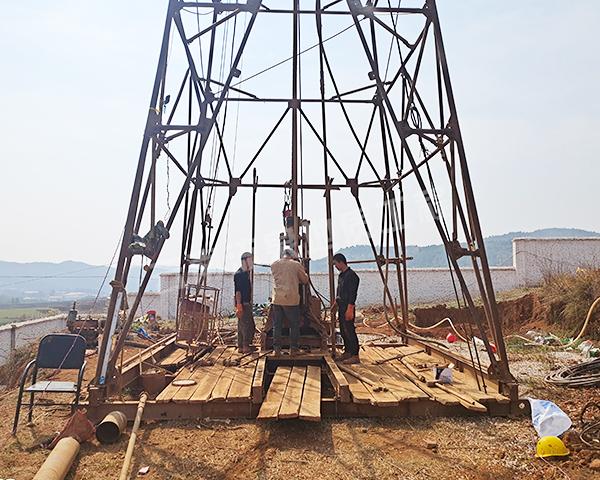 云南蒙自打井工程项目