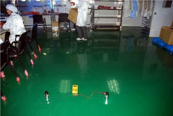 云南科灵生物制药有限公司实验室环氧自流平