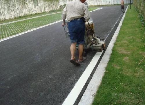 昆明市地面施工划线