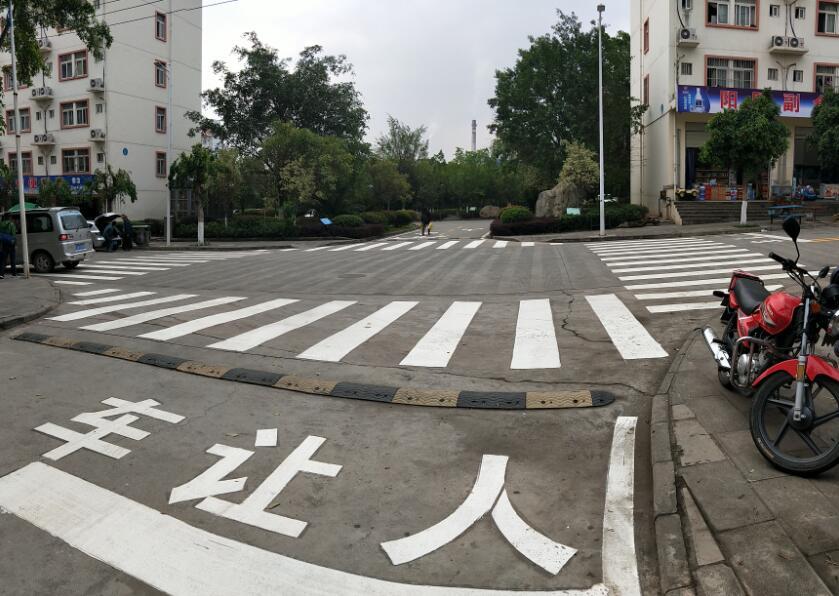 道路划线工艺