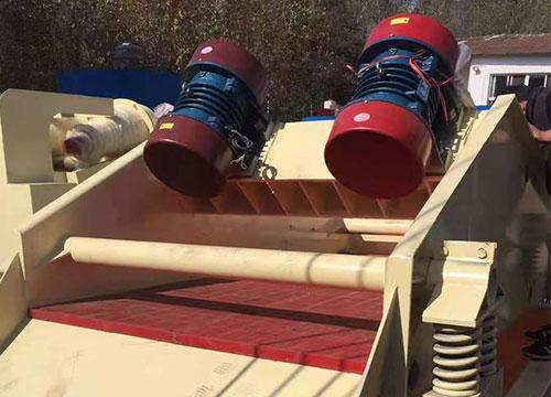 云南双层高频脱水筛厂家